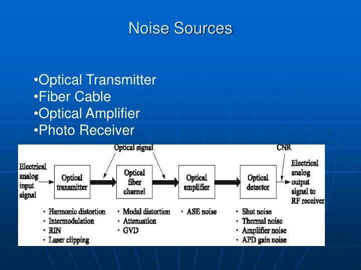 Noise Sources