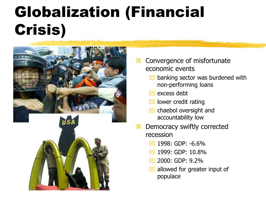 Globalization (Financial Crisis)