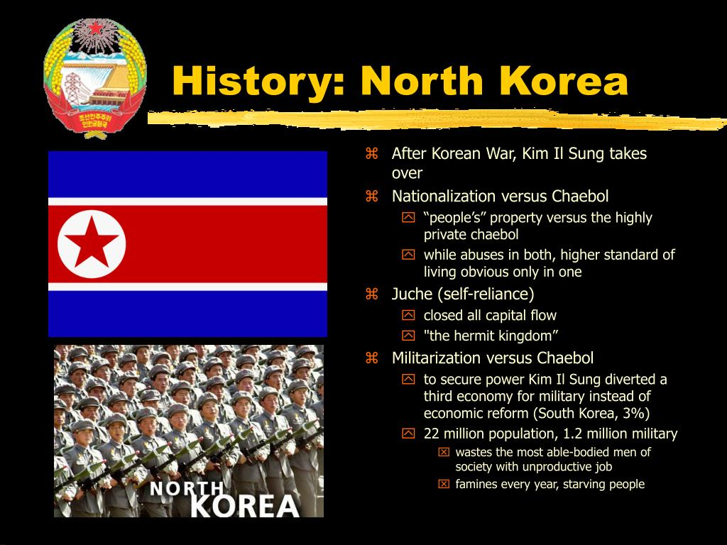 History: North Korea