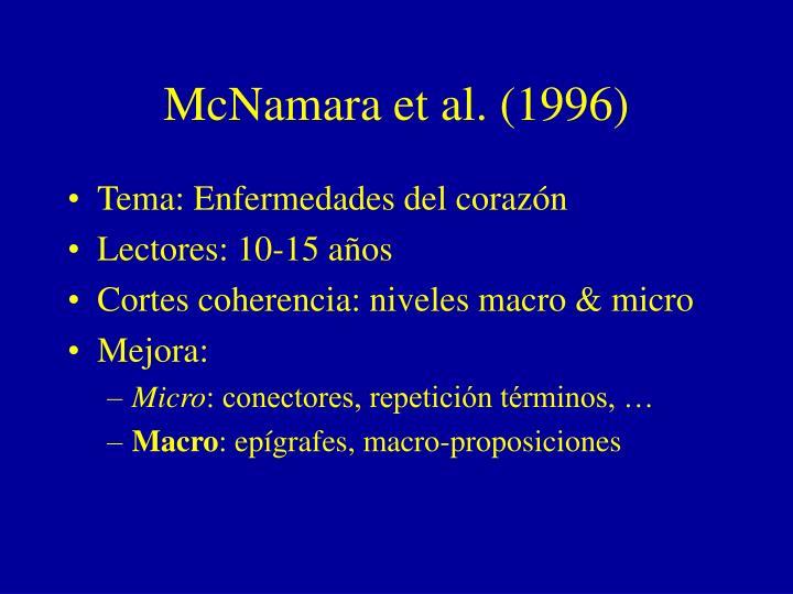 McNamara et al. (1996)