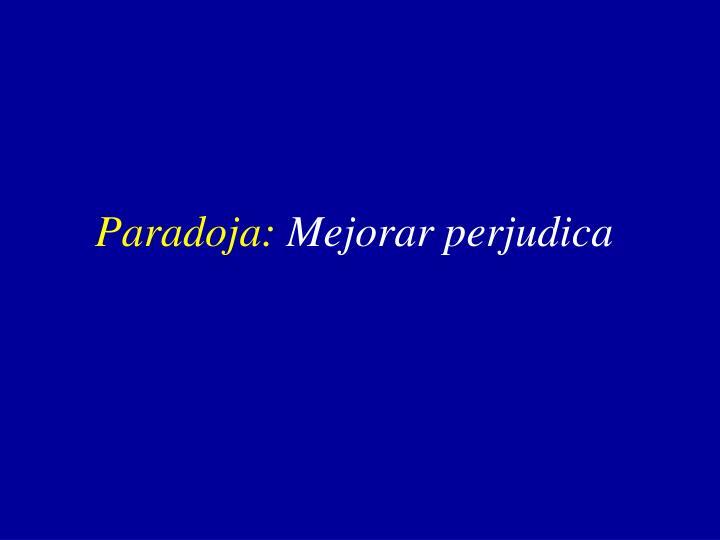 Paradoja: