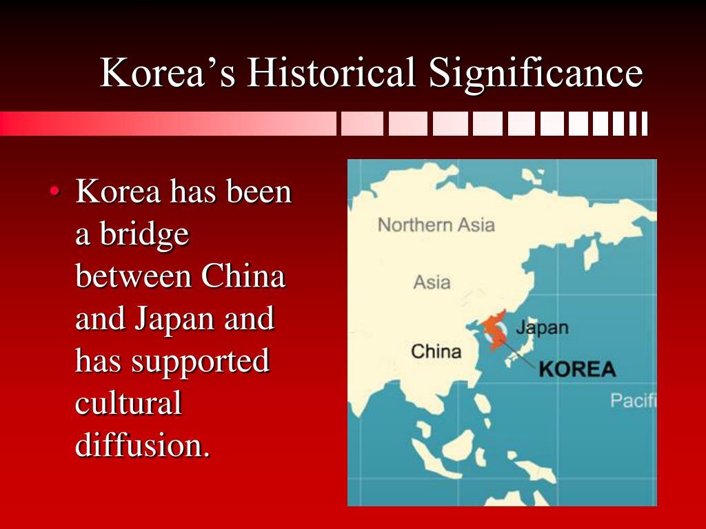Korea's Historical Significance