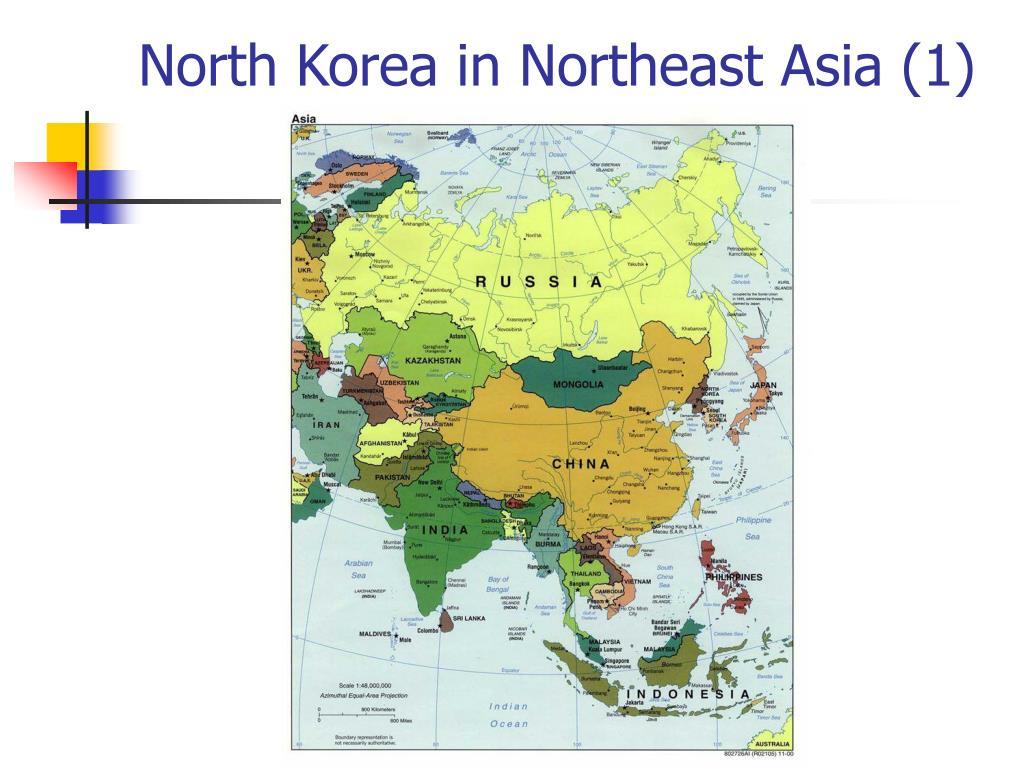 North Korea in Northeast Asia (1)