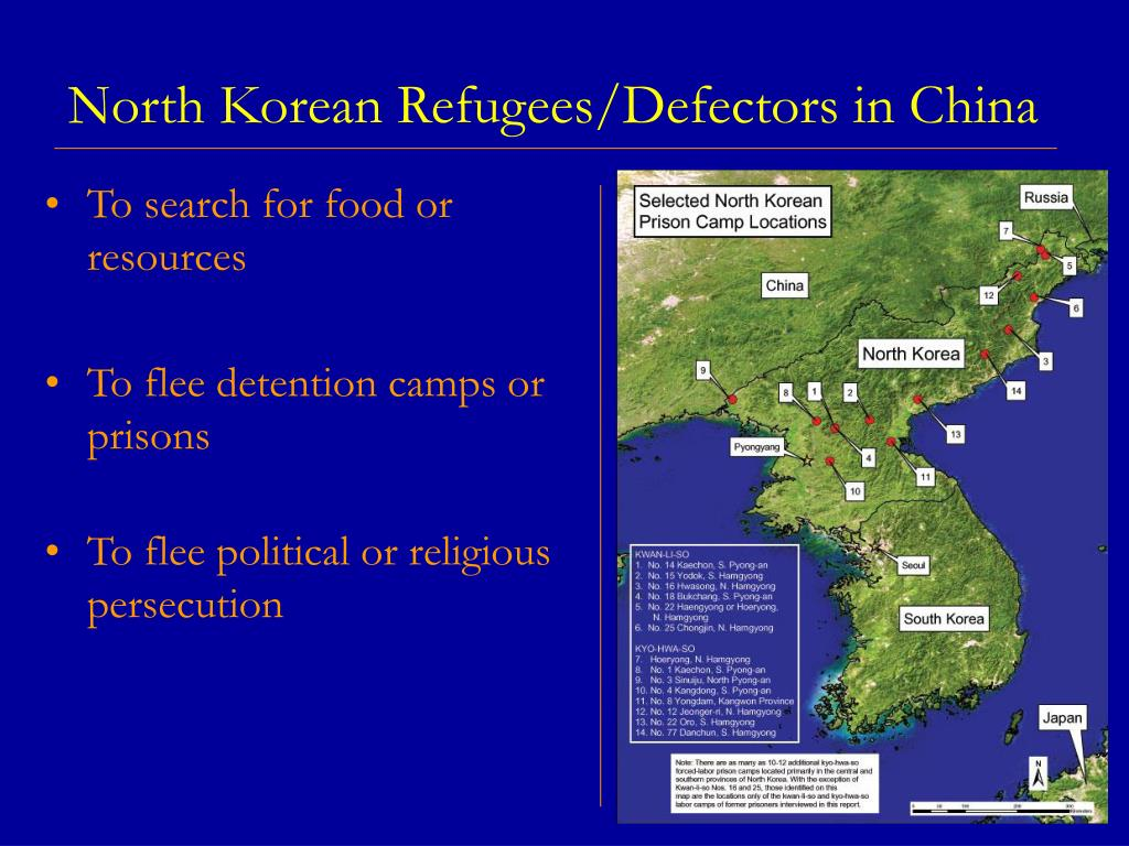 North Korean Refugees/Defectors in China