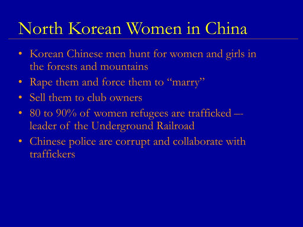North Korean Women in China