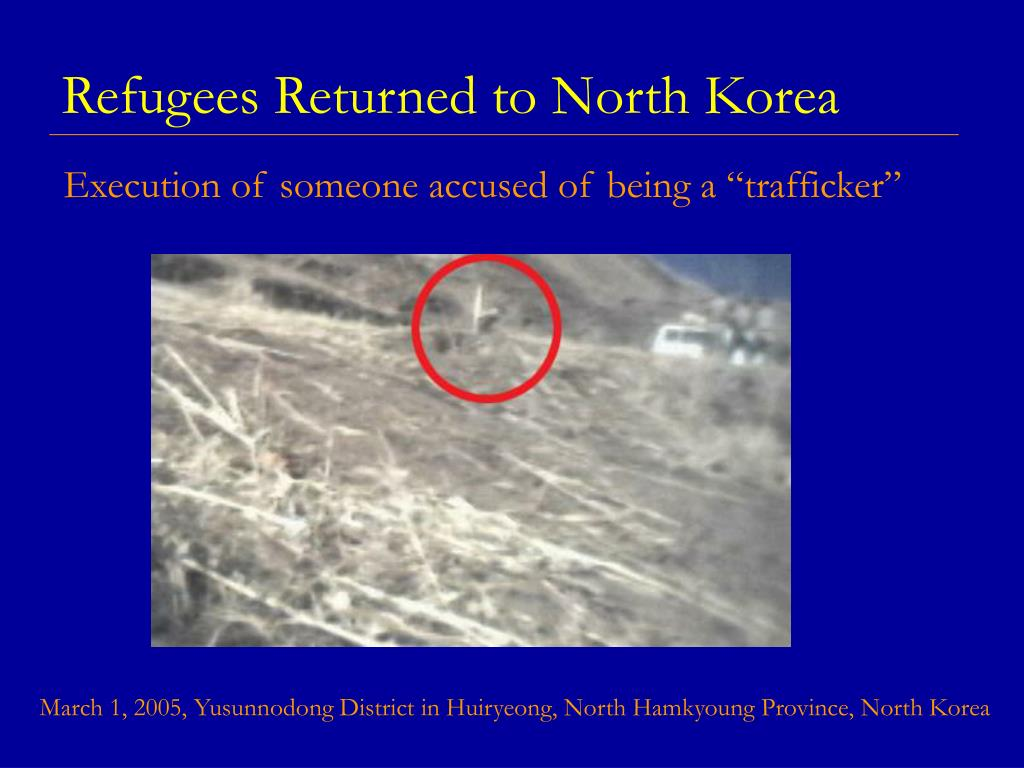 Refugees Returned to North Korea