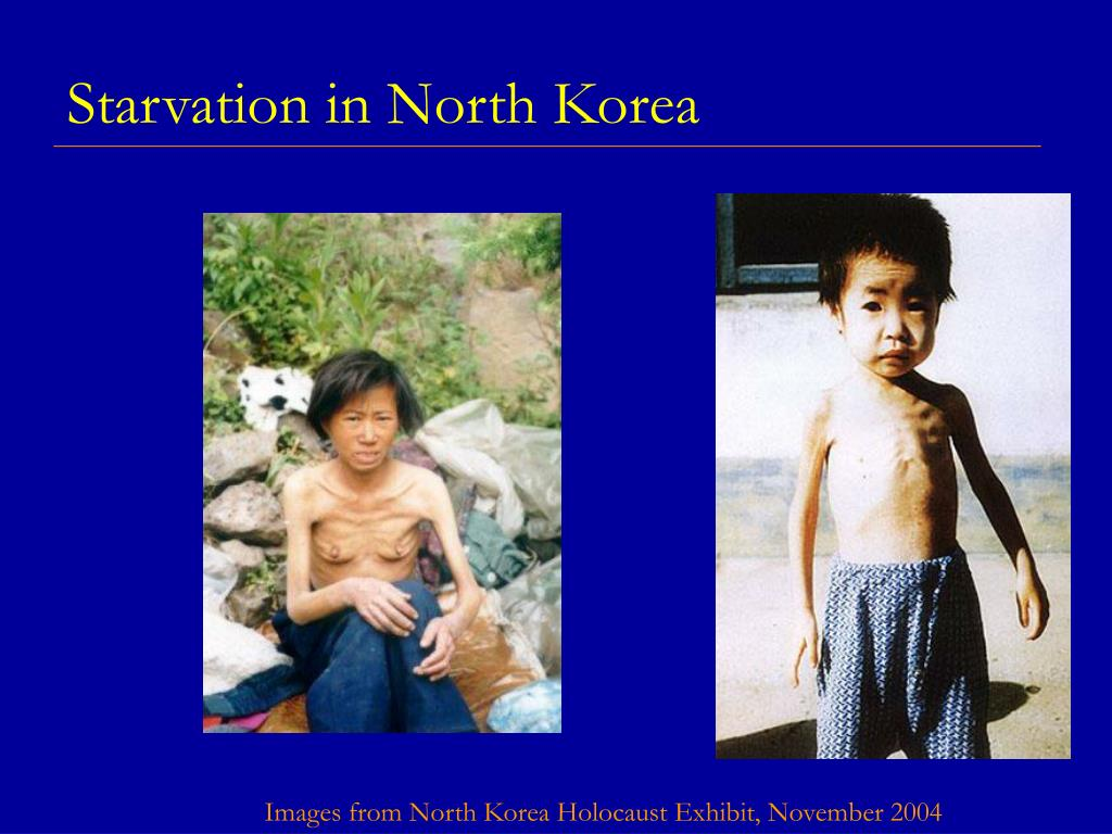 Starvation in North Korea