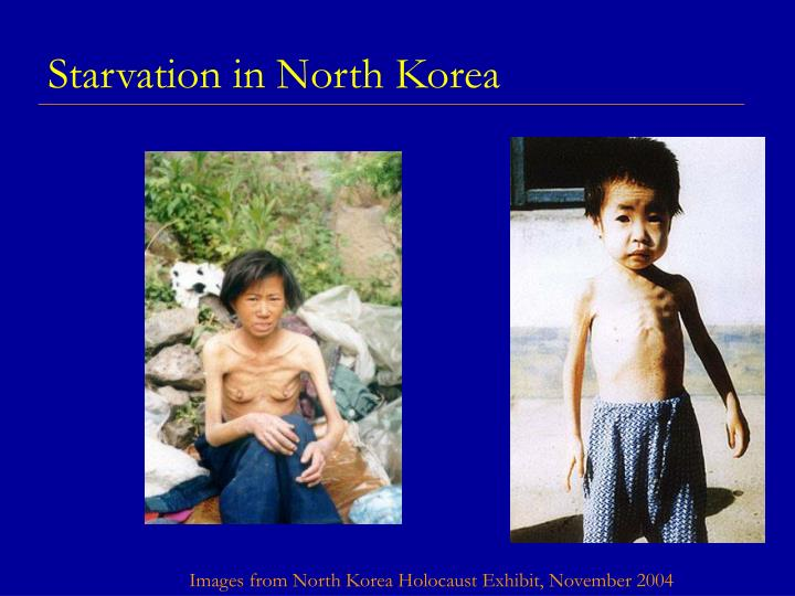 Starvation in north korea l.jpg