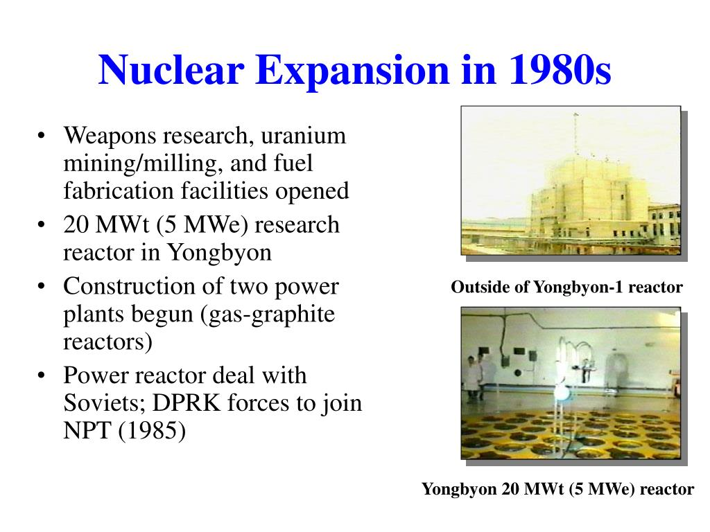 Nuclear Expansion in 1980s
