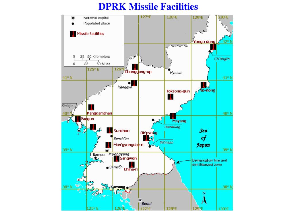 DPRK Missile Facilities