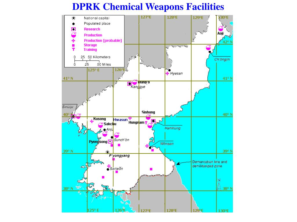 DPRK Chemical Weapons Facilities