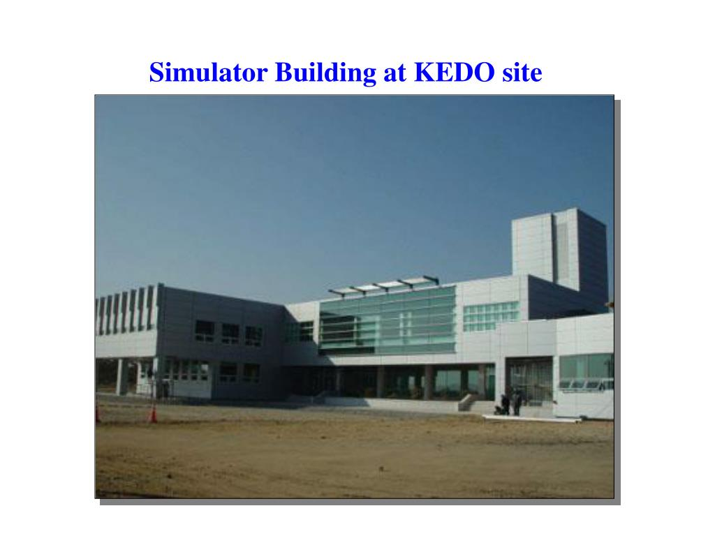 Simulator Building at KEDO site