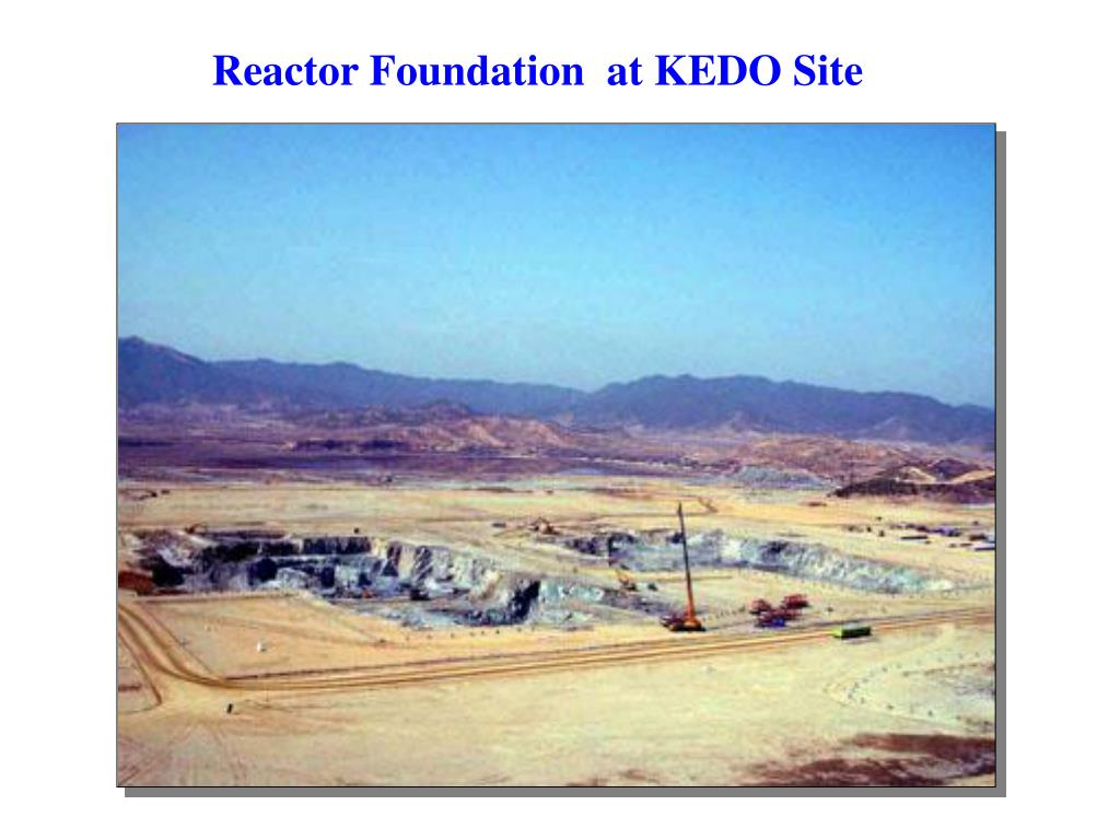 Reactor Foundation  at KEDO Site