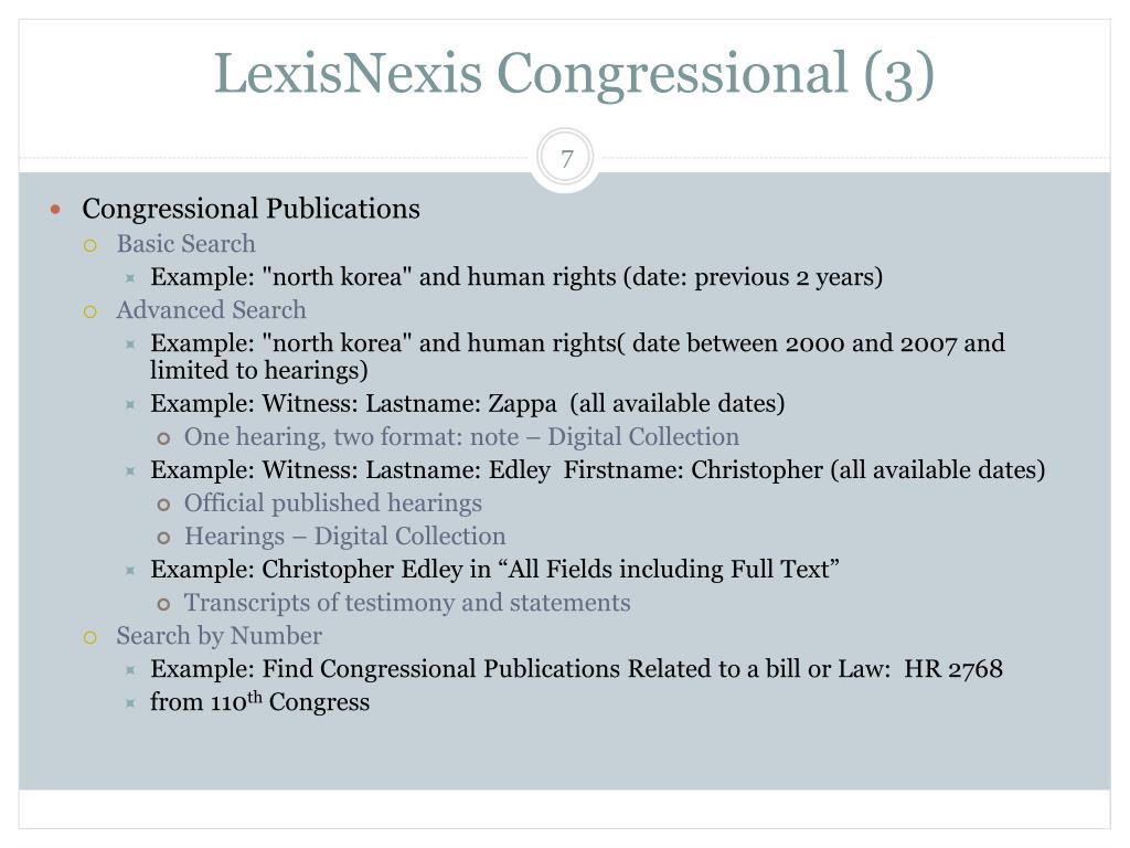 LexisNexis Congressional (3)