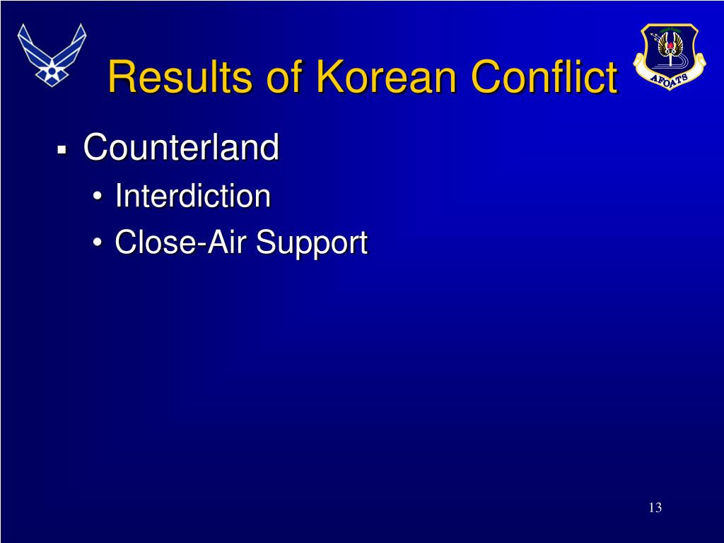 Results of Korean Conflict