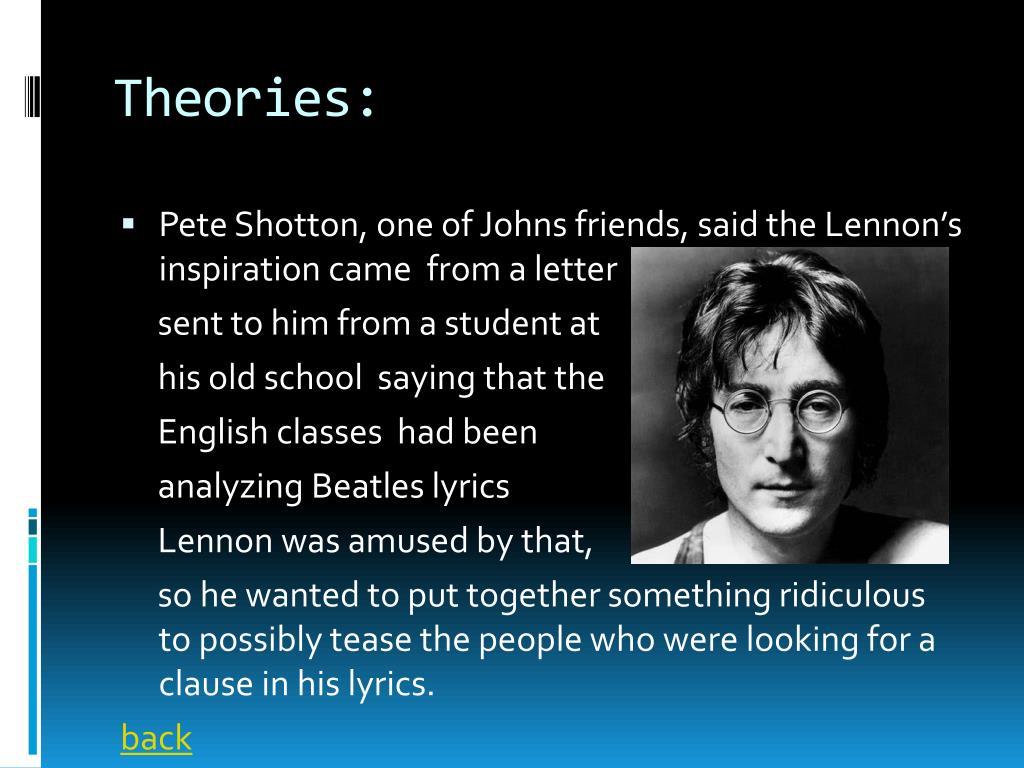 Theories: