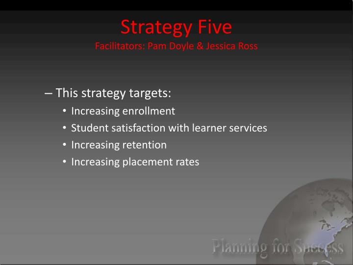 Strategy Five