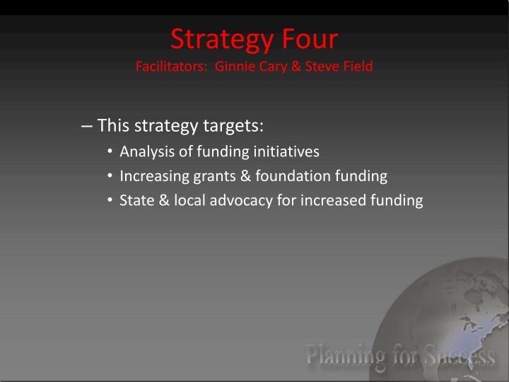 Strategy Four