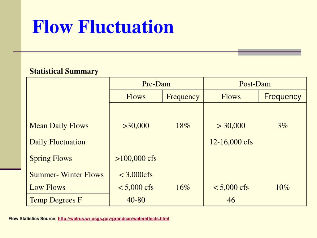 Flow Fluctuation