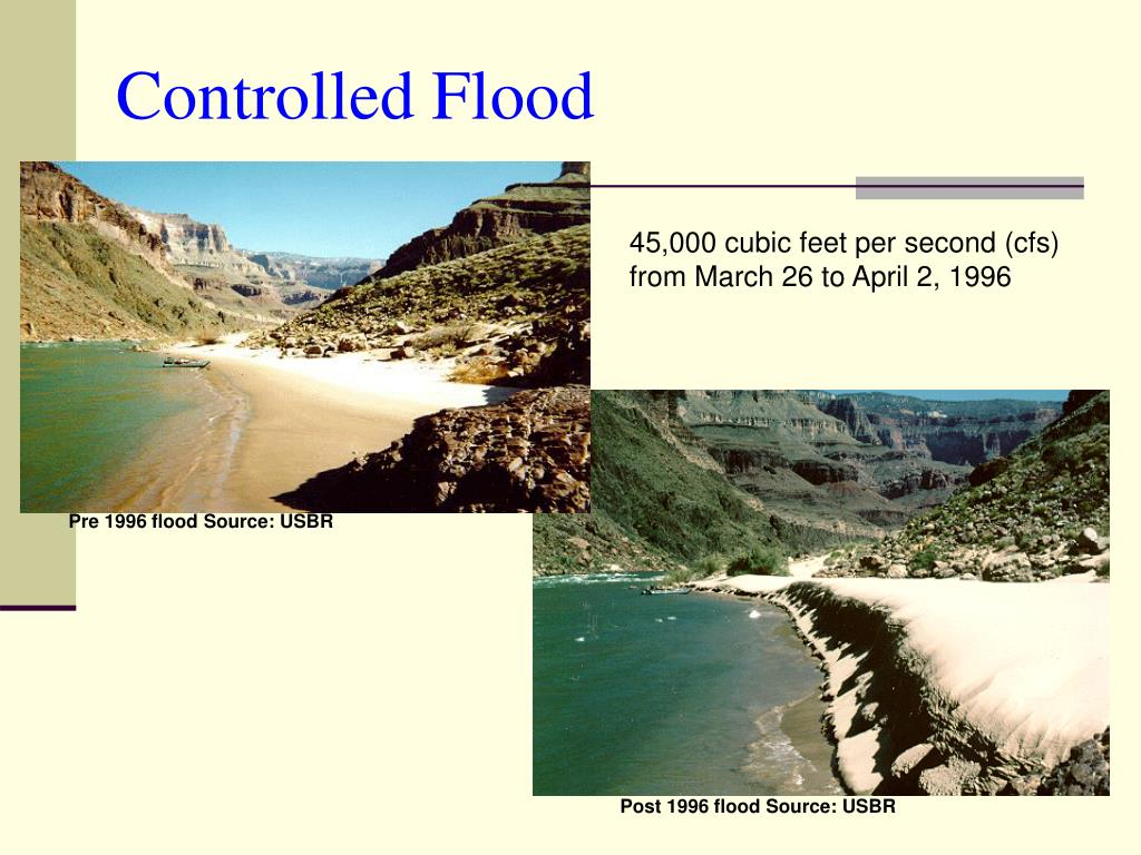 Controlled Flood