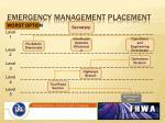 emergency management placement4