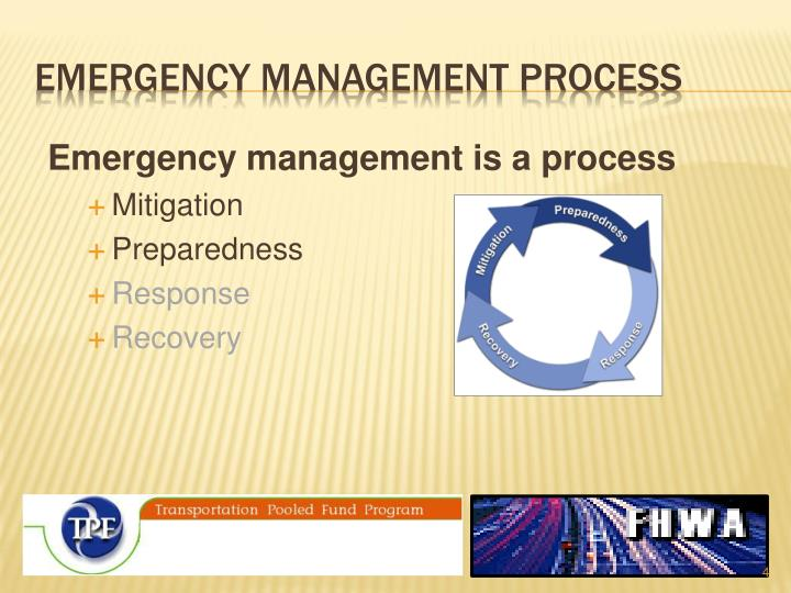 emergency management process
