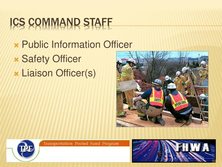ICS Command staff