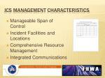 ics management characteristics1