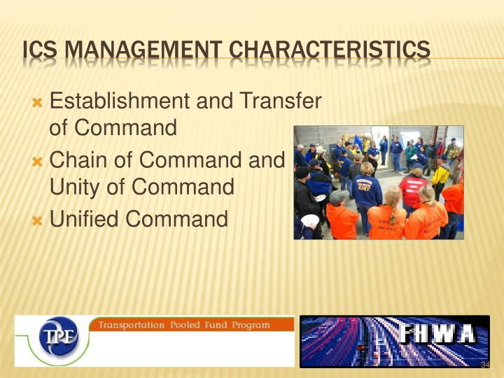 ICS Management Characteristics
