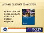 national response framework