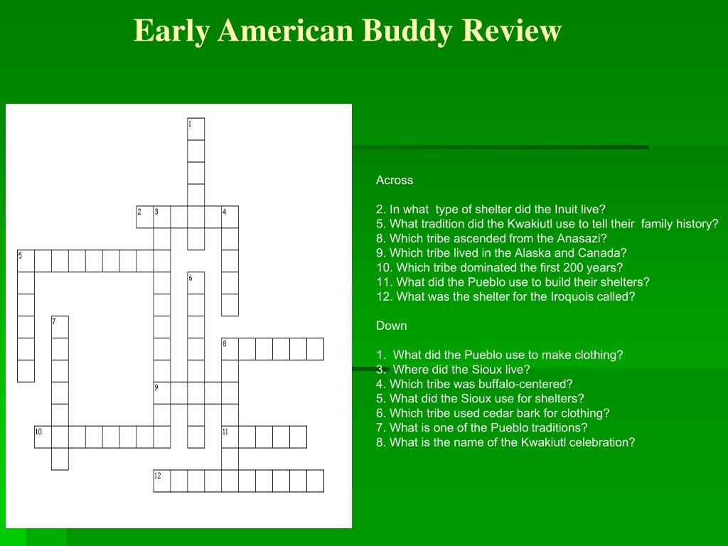 Early American Buddy Review