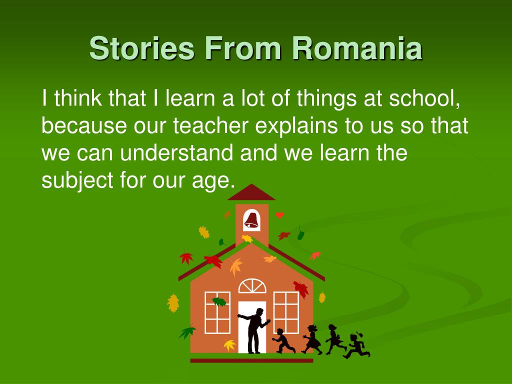 Stories From Romania