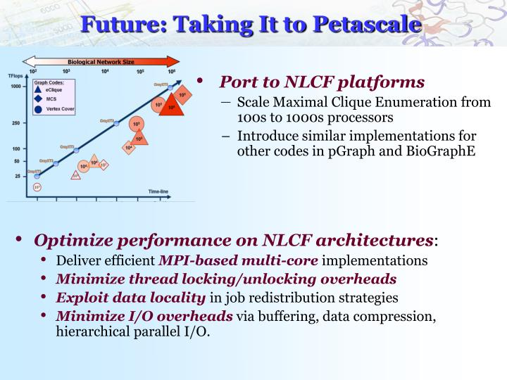 Future: Taking It to Petascale
