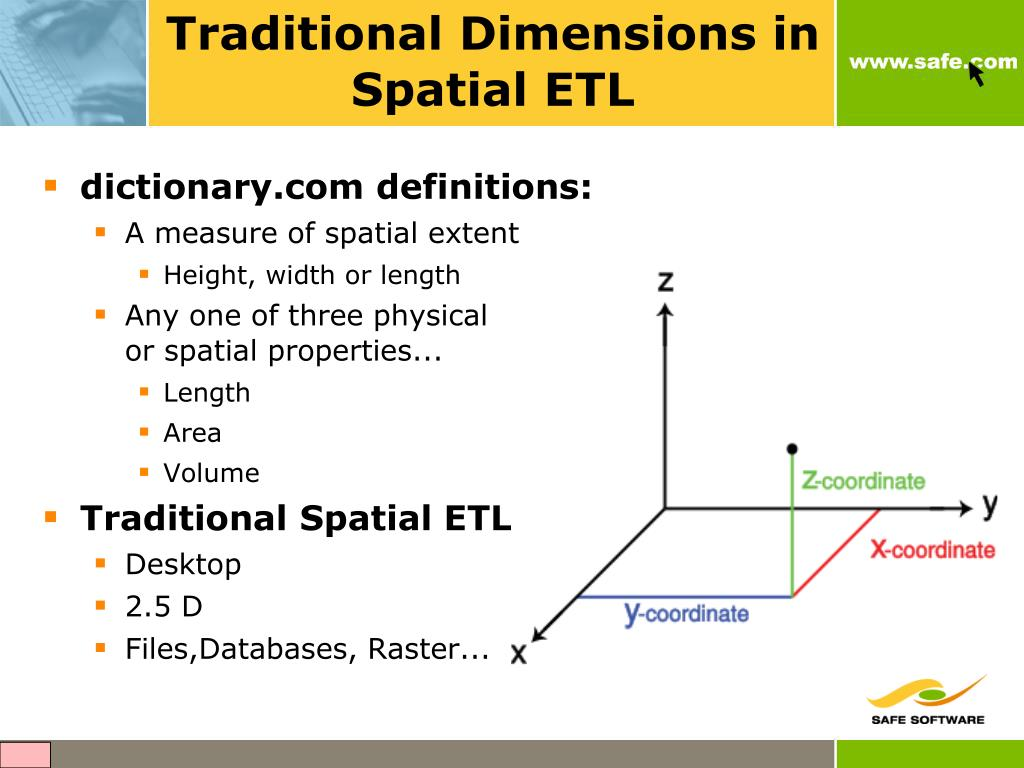 Traditional Dimensions in Spatial ETL