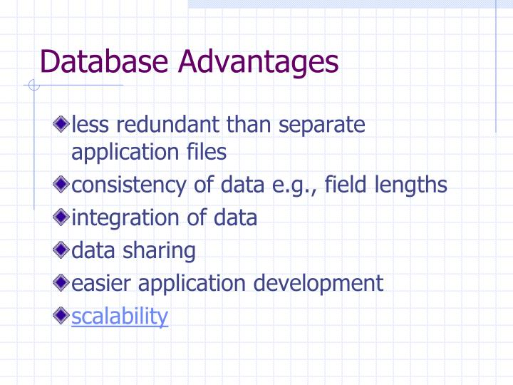 Database advantages l.jpg