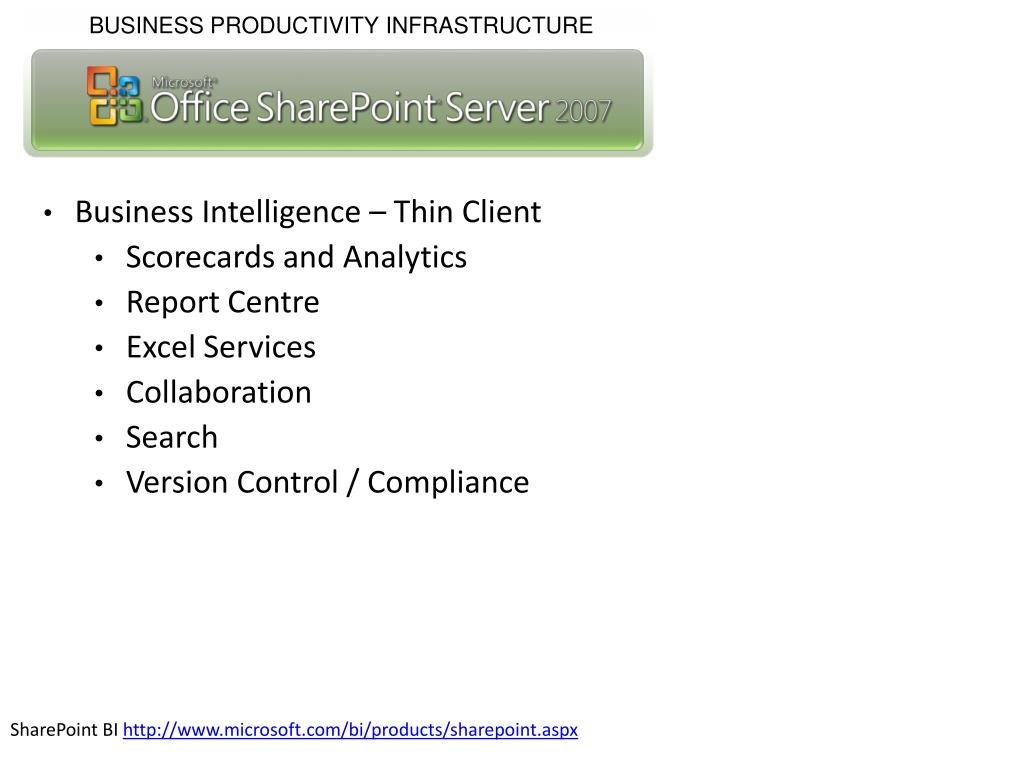 Business Intelligence – Thin Client