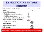 effect of inventory errors14