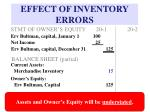 effect of inventory errors9