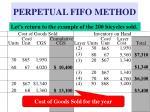 perpetual fifo method22