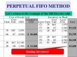 perpetual fifo method23
