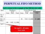 perpetual fifo method7