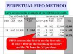 perpetual fifo method8