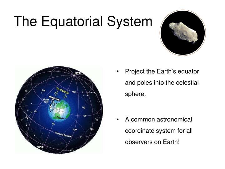 The Equatorial System
