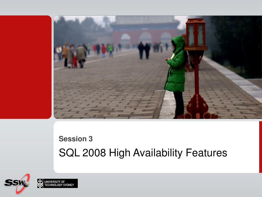SQL 2008 High Availability Features