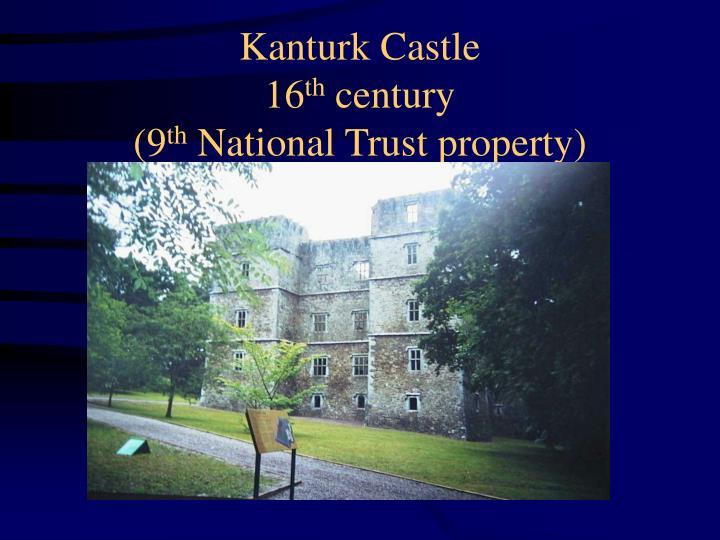 Kanturk Castle