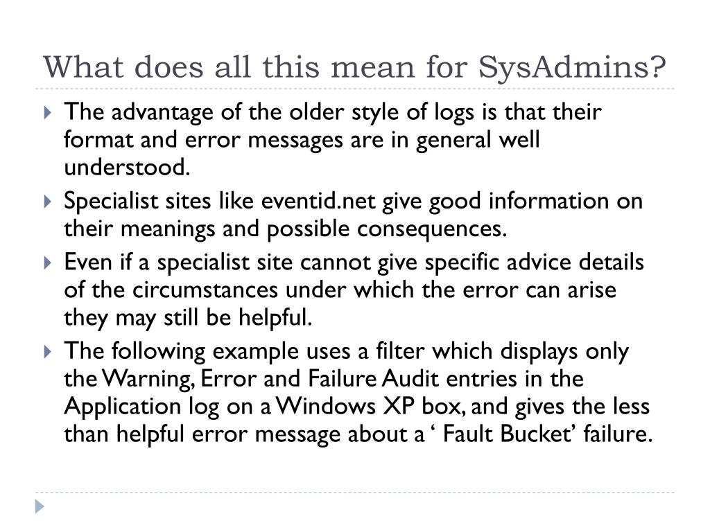 What does all this mean for SysAdmins?