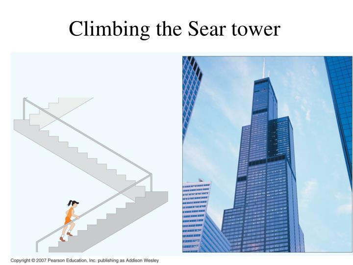 Climbing the Sear tower