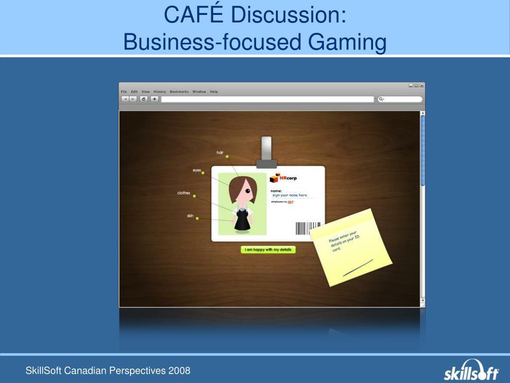 CAFÉ Discussion: