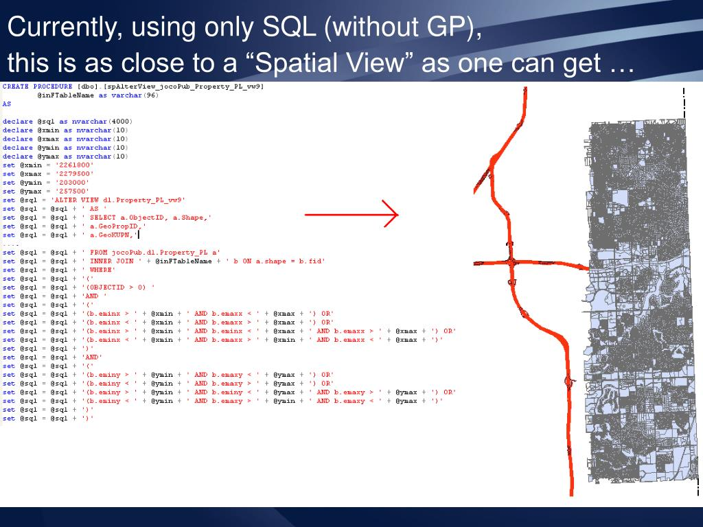 Currently, using only SQL (without GP),