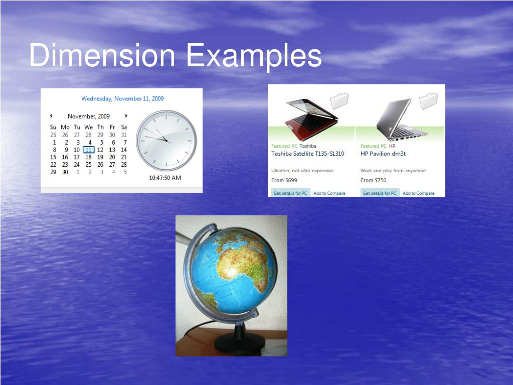 Dimension Examples